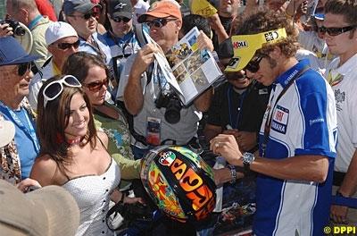 Moto GP: Rossi dans la tourmente.