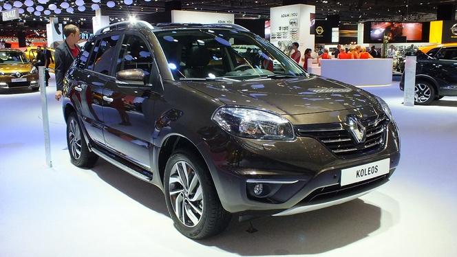 Vidéo en direct du salon de Francfort 2013 - Le Renault Koleos restylé : toujours vivant
