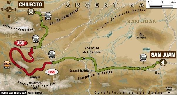 Dakar 2015 - Etape 2 : le tour parfait de Joan Barreda