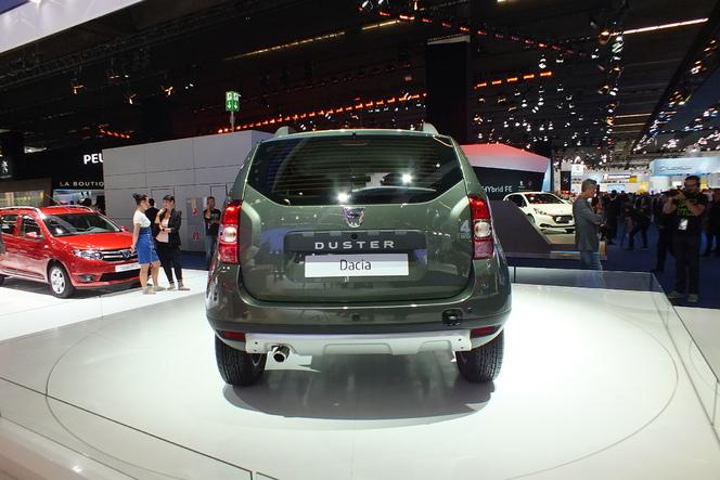 En direct du salon de Francfort 2013 - Le Dacia Duster restylé en vidéo