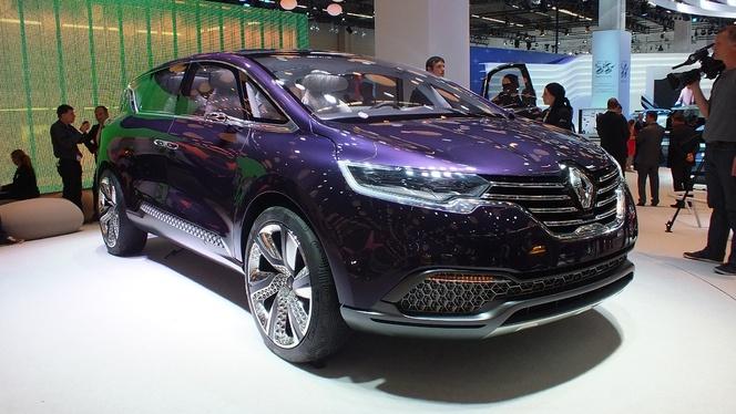 Vidéo en direct du salon de Francfort 2013 - Renault Concept Initiale Paris : c'est l'Espace du futur
