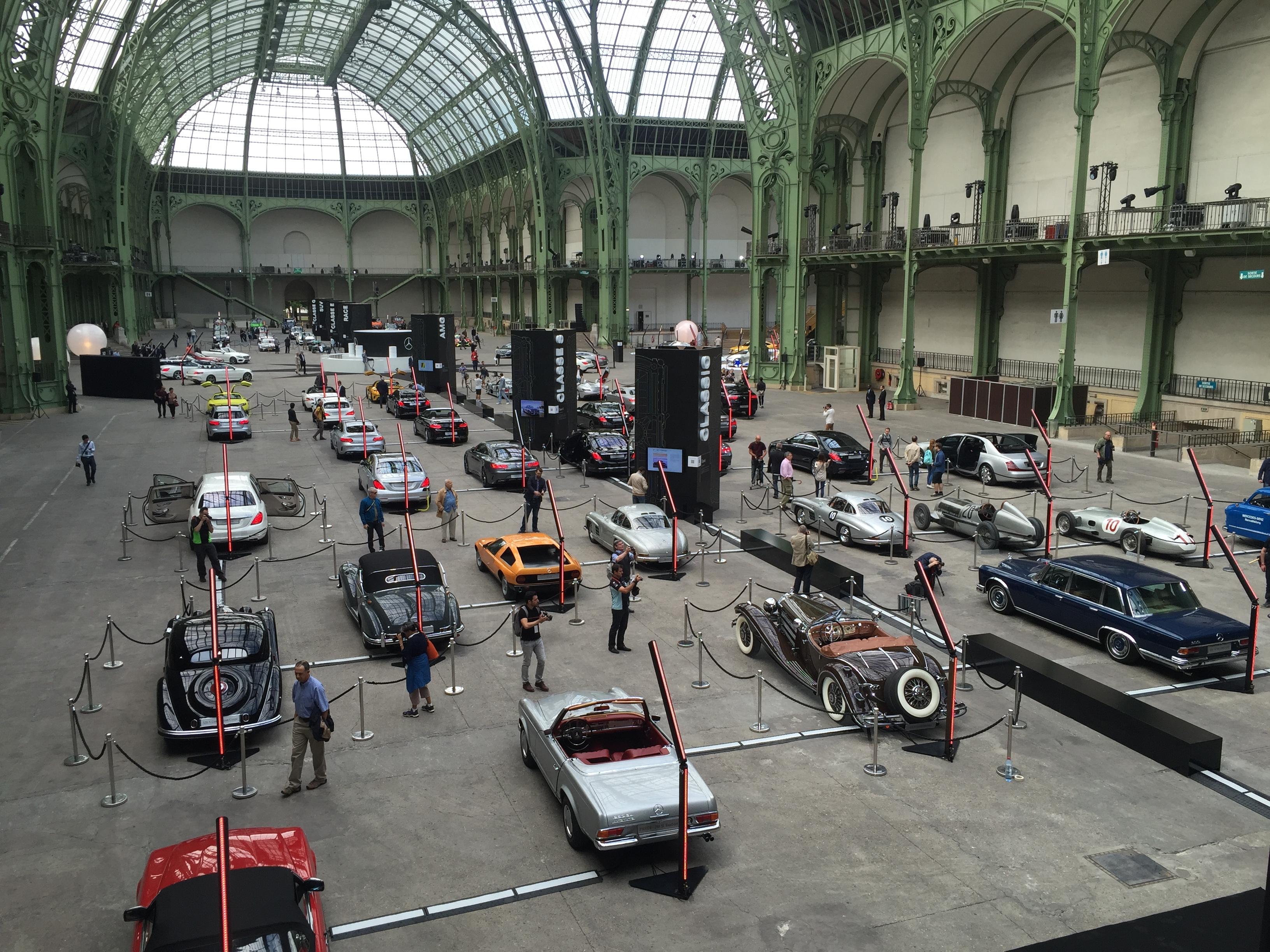 Exposition mercedes au grand palais le reportage vid o - Expo le grand palais ...
