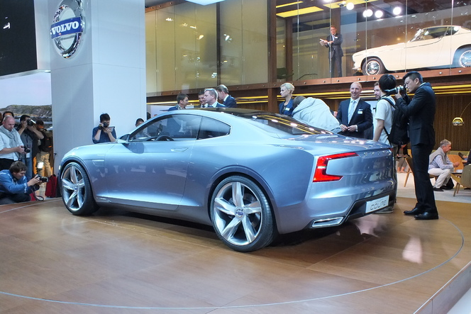 En direct du salon de Francfort 2013 - Volvo Concept Coupé