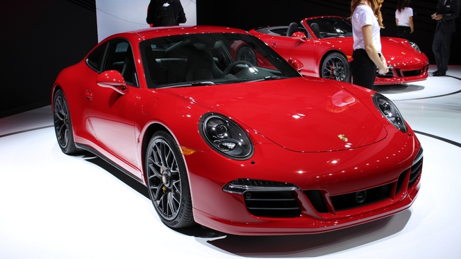 Porsche 911 GTS : 430 ch de feu... - En direct du Salon de Los Angeles