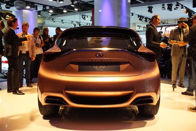 En direct du salon de Francfort 2013 - Infiniti Q30 Concept : décalée