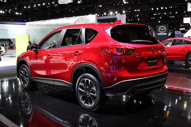 Mazda CX-5 restylé : qualité en hausse - En direct du salon de Los Angeles 2014