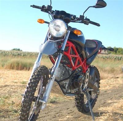 Photo du jour : Terra Mostro, une Ducati à l'aise sur terre