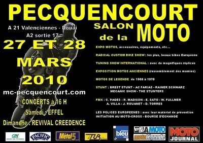 Salon de Pecquencourt (59) : la 31ème édition les 27 et 28 mars 2010.