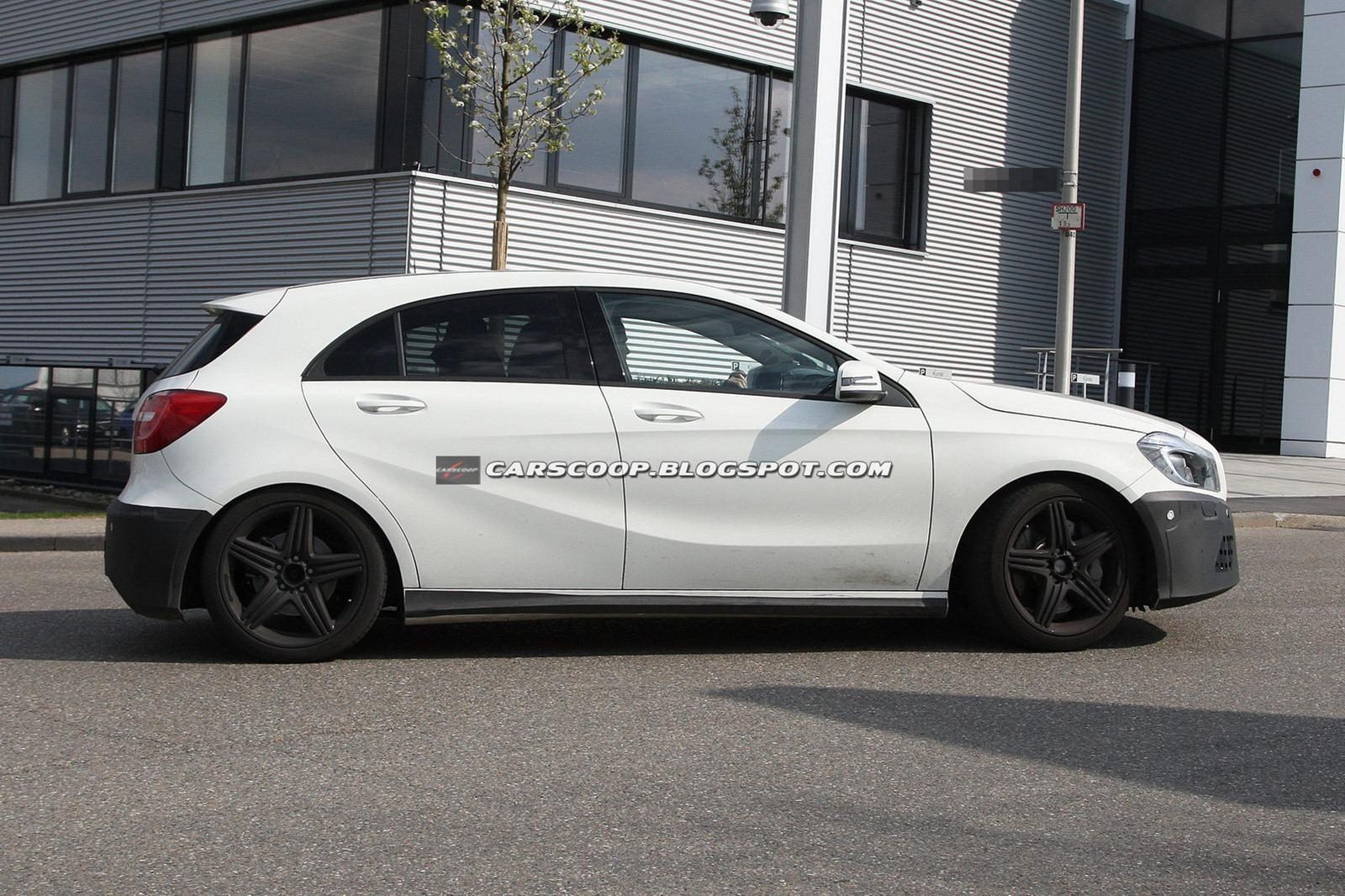 Future mercedes classe a amg 330 chevaux sous le capot for Mercedes benz 330
