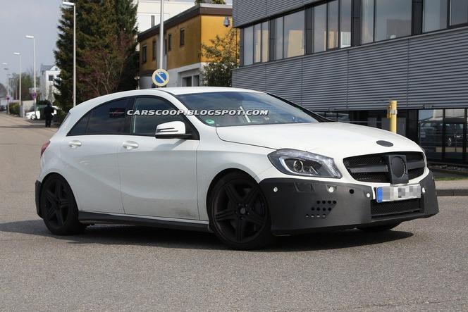 Future Mercedes Classe A AMG : 330 chevaux sous le capot