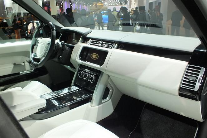 En direct du salon de Francfort 2013 - Land Rover Range Rover Hybride : un gros chameau