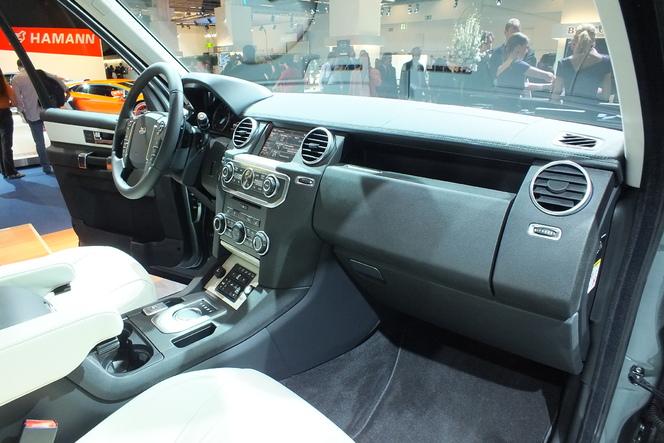 En direct du salon de Francfort 2013 - Land Rover Discovery 2014