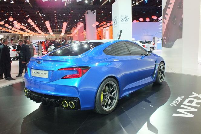En direct du salon de Francfort 2013 - Subaru WRX Concept : missile en approche