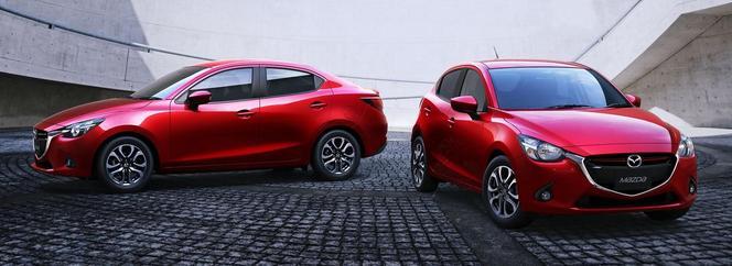 """Mazda dévoile la """"2"""" berline"""