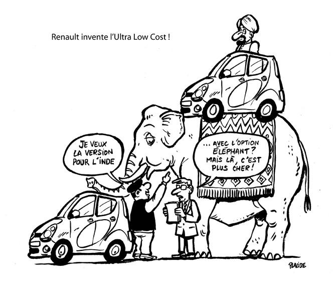 Le dessin du jour – Du microscopique à l'éléphantesque