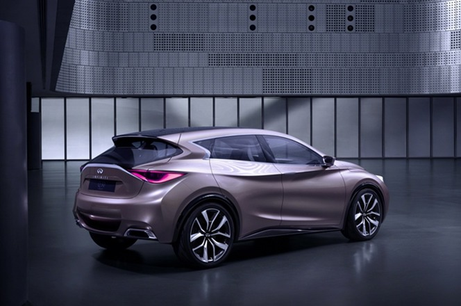 Plus de photos du concept Infiniti Q30