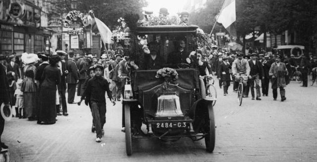 14 juillet: une histoire de France version automobile