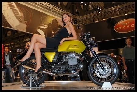 Essai - Moto Guzzi V7 Café Classic : Le Café crème...