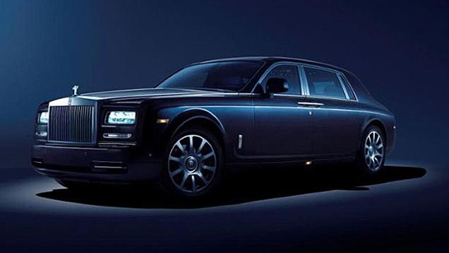 Toutes les nouveautés de Francfort 2013 : Rolls Royce Phantom Celestial concept
