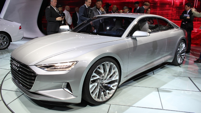 Audi Prologue Concept : l'A9 est avancée - En direct du salon de Los Angeles 2014