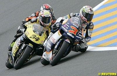 Moto GP 2008: D'Antin veut garder Barros et remplacer Hofmann