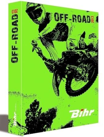 Bihr: le catalogue off-road 2013 est arrivé