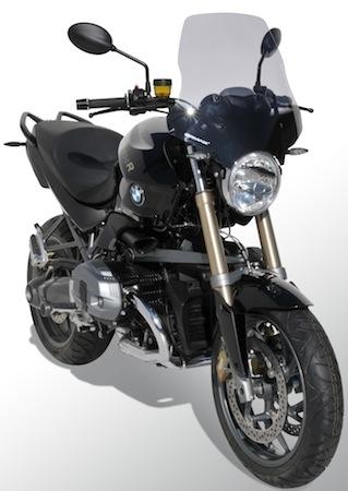 Ermax offre 55 centimètres de protection à la BMW R1200R (2012-2013)