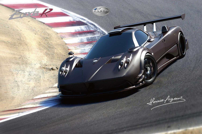 salon de francfort pagani zonda r la plus belle voiture de course du monde officielle. Black Bedroom Furniture Sets. Home Design Ideas