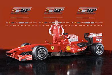 Formule 1 - Ferrari F60: Raïkkonen impatient d'en découdre