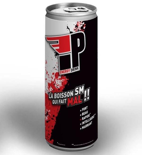 IP Energy Drink , la Boisson SM qui fait mal !