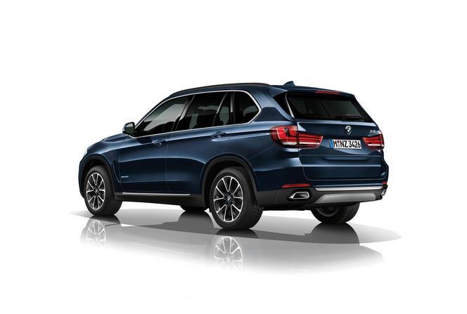 BMW présente un X5 blindé au salon de Francfort