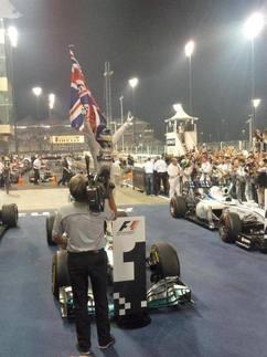 F1 - GP d'Abou Dhabi : Hamilton champion du monde 2014 sans lutter