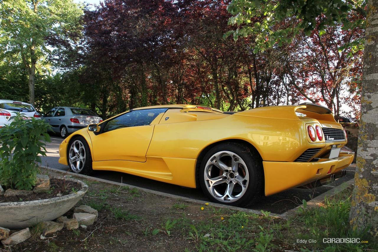 Photos Du Jour Lamborghini Diablo Vt Roadster Gt Days
