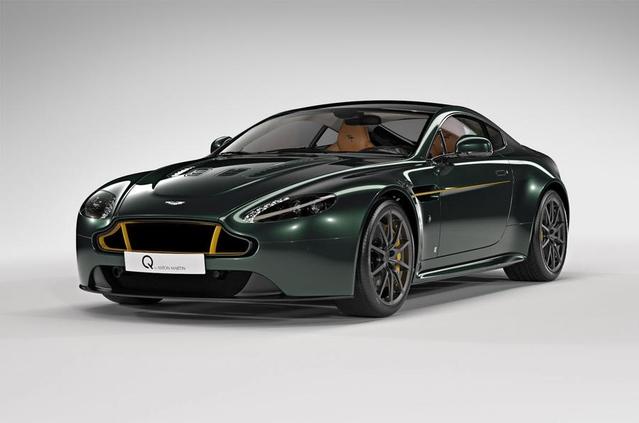 Aston Martin V12 Vantage S Spitfire 80 : en hommage au célèbre avion de la Seconde Guerre Mondiale