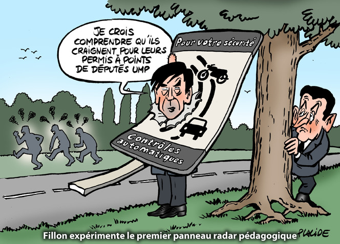 le dessin du jour de placide fillon nouveau bouc missaire des d put s de l 39 ump. Black Bedroom Furniture Sets. Home Design Ideas