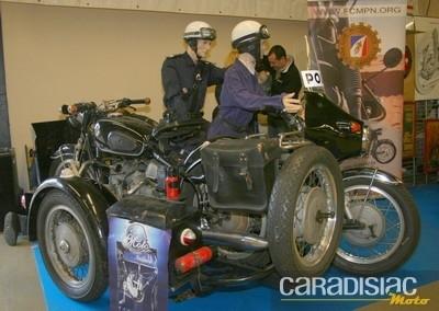 Interview de Bruno BOHRER, délégué de la section « motos anciennes » au sein de la ligue des  Clubs Motocyclistes de la police nationale et disciplines associés.
