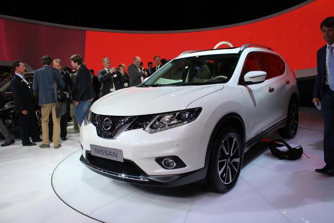 Vidéo en direct du salon de Francfort 2013 - Nissan X-Trail : mélange de 4x4 et de crossover
