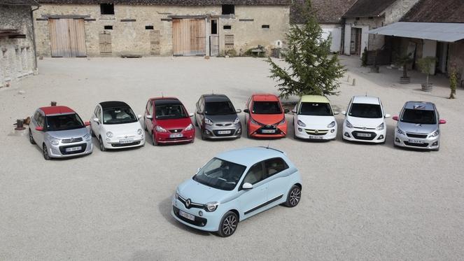 petite voiture urbaine comparatif