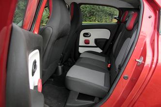 A l'intérieur de la Renault Twingo