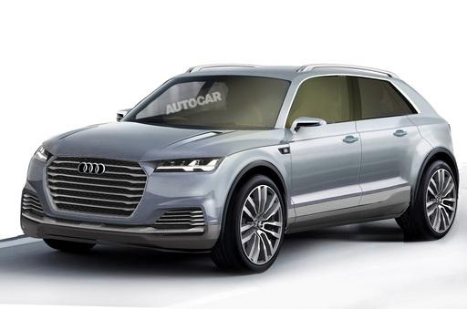 Audi entre dans le SAC et annonce un Q8