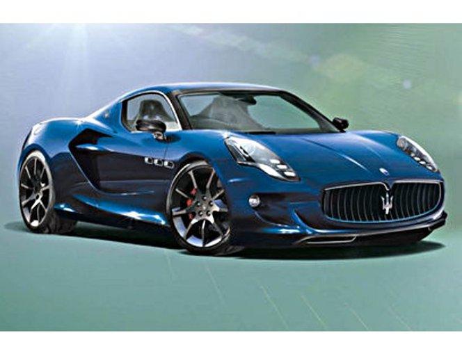 Future Maserati GranSport : la grosse 4C du Trident