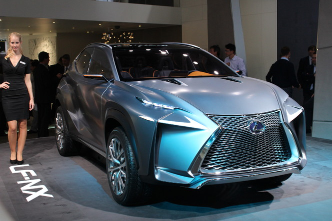 En direct du salon de Francfort 2013 - Lexus LF-NX : aiguisé