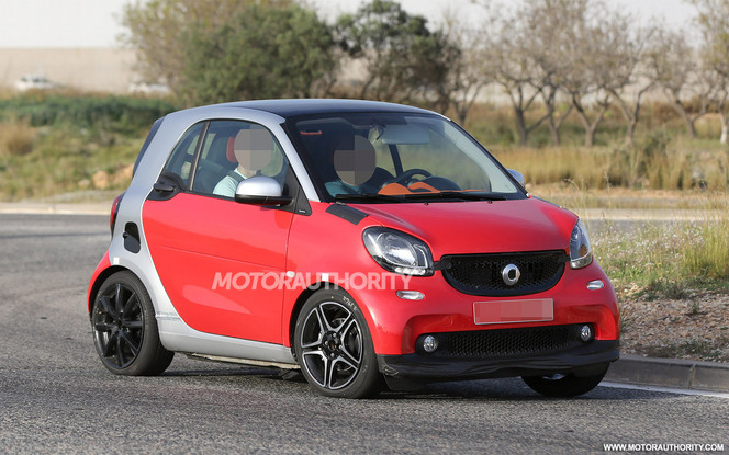 Surprise : la future Smart Fortwo Brabus de sortie
