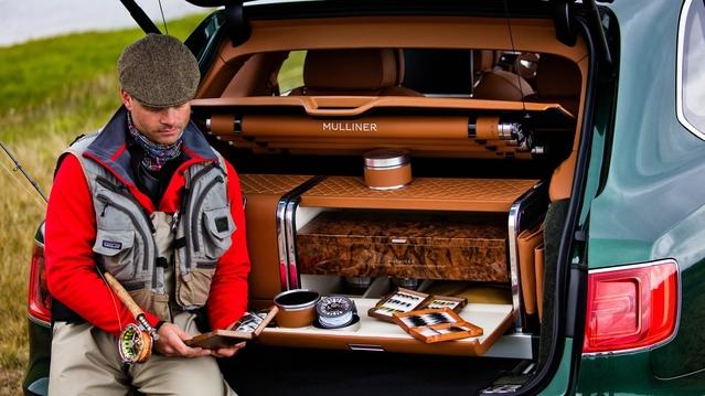 Bentley : un Bentayga pour la pêche à la mouche