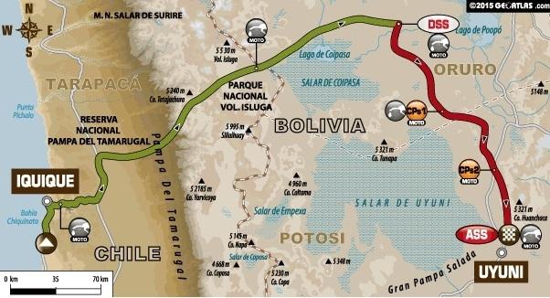 Dakar 2015 - Etape 6 : Helder Rodrigues sort le grand jeu
