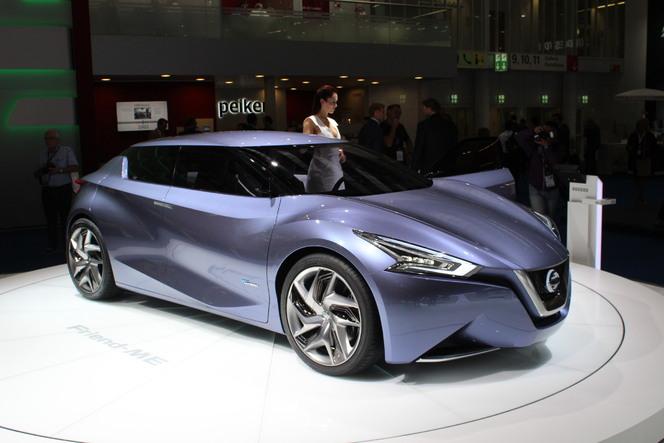 En direct du salon de Francfort 2013 - Nissan Friend-Me : future compacte