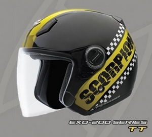 Casque Scorpion : EXO-100 & EXO-200