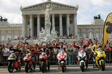 Moto GP: La catégorie s'offre une petite valse à Vienne