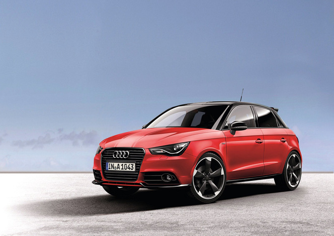 Audi A1 Amplified: comme son nom l'indique