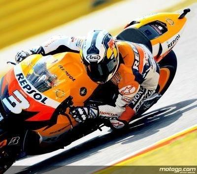 Moto GP - Italie: Pedrosa de nouveau handicapé par une blessure !